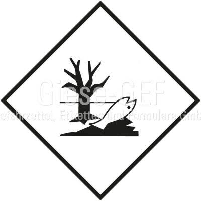 """Zusatzlabel """"Umweltgefährdende Stoffe"""" nach ADR/RID , IMDG-Code und IATA"""