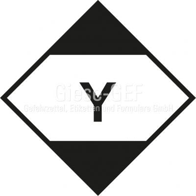 Etiketten zur Kennzeichnung von in begrenzten Mengen verpackten gefährlichen Gütern nach IATA